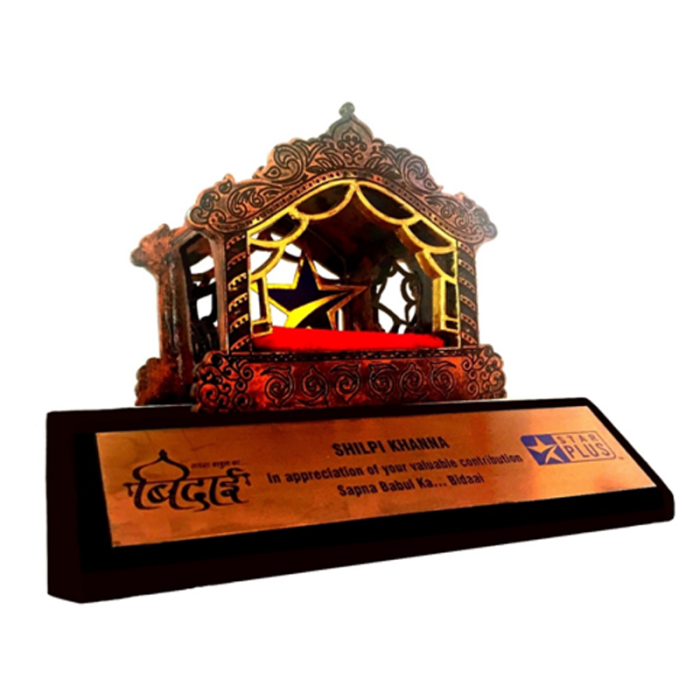Award from Star India Network, #1 Television Provider in India, part of Disney, for contribution in the #1 TV series 'Sapna Babul ka… Bidaai'.